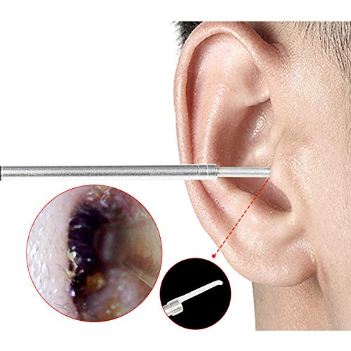 YUOCEAN Ohr-Endoskop, Digitales USB-Otoskop Ohrenreinigung Kamera-Tool mit 6 einstellbaren LED-Leuchten, Geeignet für Android Apple Windows (Usb-kamera-otoskop)