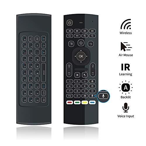 PULIER MX3 Pro Air Mouse Control Voz/Entrada Teclado