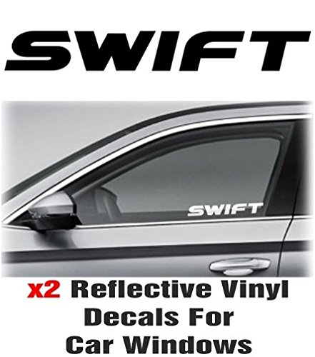 2-x-suzuki-swift-window-decal-sticker-graphic-reflective-vinyl-black-