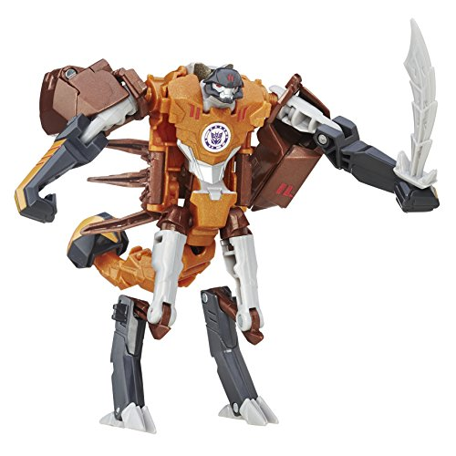 Hasbro Transformers B7041EL2 - RID Warriors Actionfigur: Scorponok, Aktionsspielzeug
