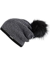 Chillouts Arabella A Bonnet d'hiver Bonnet pour femme Pompon bonnet