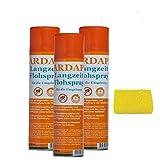 3 x 400 ml Ardap Langzeit Flohspray Quiko mit Langzeitwirkung + Insektenschwamm