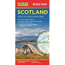 Philip's Scotland Road Map (Road Maps)