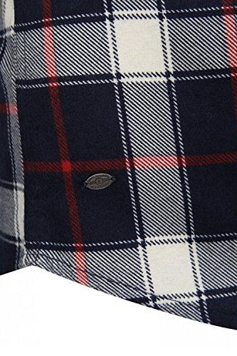Tokyo Laundry Herren 'Callaghan' Kariert Lange Ärmel Freizeit Flanellhemd Rot