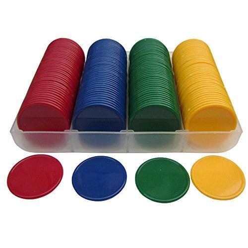 SmartDealsPro Set von 160blickdicht 3/5,1cm Kunststoff Counting Marken Poker Chips