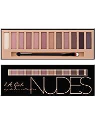 LA GIRL Beauty Brick Eyeshadow Collection - Nudes