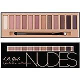 L A Girl Beauty Brick Eyeshadow, Nudes, 12g