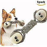 Morbuy Corde De Coton Jouets Animaux, Chiens Jouets Pour Animaux de Compagnie Coton Tissé Chew corde jouet 1PC (A)