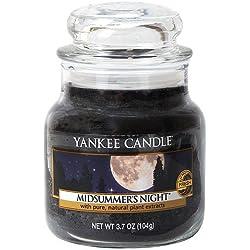 Yankee Candle 138174E Duftkerze Glas, 6,0 x 6,0 x 8,90 cm, schwarz