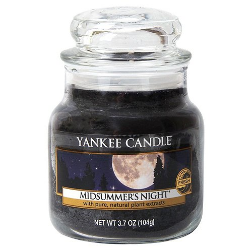 Yankee Candle Glaskerze, klein, Midsummers Night -