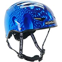 HardnutZ Helmets Kids Blue Rain Street Cycle
