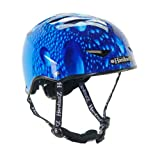 HardnutZ Helmets - Casco de ciclismo para bicicleta de paseo, color azul (54-58 cm)