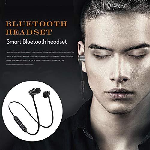 Cooshional Auriculares inalámbricos Bluetooth 4.1 Auriculares Magnéticos Deportivos HiFi