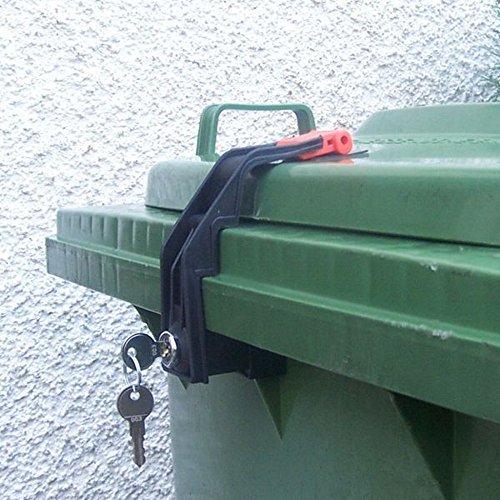 *Mülltonnenverriegelung, 60 – 360 Liter, Gleichschließend*