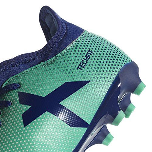 adidas X 17 3  FG J Hard Ground Junior 35 5       Football Boots  Hard Ground Football Boot  Child  Unisex  Sole with studs  Blue  Green  Monotone