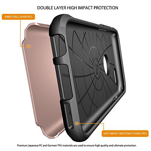 iPhone 6S/6étui, luvvitt® Ultra Armor Coque pour Apple iPhone 6(2014)/iPhone 6S (2015) [garantie à vie] Double Couche antichocs rigide avec pare-chocs | Best iPhone 6/6S Étui pour écran 11,9cm rose gold