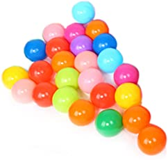 BEBIG Children's Toy Ball Ocean Ball Thickened Color Ball Swimming Pool Game Wave Ball (Small)