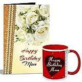 #2: Happy Birthday Mom Mug With Card Hamper