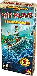 Asmodee- Juego de Tablero The Island Strikes Back (ADE0ISL02ML)