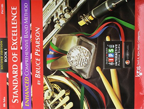 Standard Of Excellence: Enhanced Comprehensive Band Method Book 1 (Tuba Bass Clef) (Book/CD/CD-Rom): Noten für Tuba