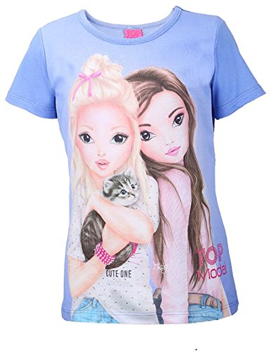 Preiswert Top Model Mädchen T-Shirt Candy Hayden 85000 Blau (128 ... 617f5f44a3