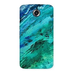 Impressive Texture Paint Back Case Cover for Nexsus 6