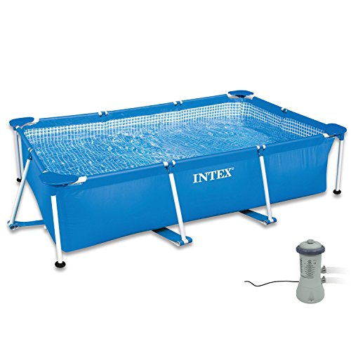 Intex 300x200x75 cm Frame Pool Set Family Filteranlage 2827204 | Garten > Swimmingpools > Filteranlagen | Intex
