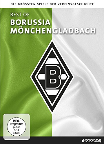 Best of Borussia Mönchengladbach - Die größten Spiele der Vereinsgeschichte (6-DVD-Box)