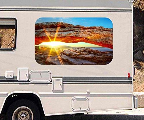3d-autoaufkleber-landschaft-fels-national-park-usa-wohnmobil-auto-kfz-fenster-motorhaube-sticker-auf