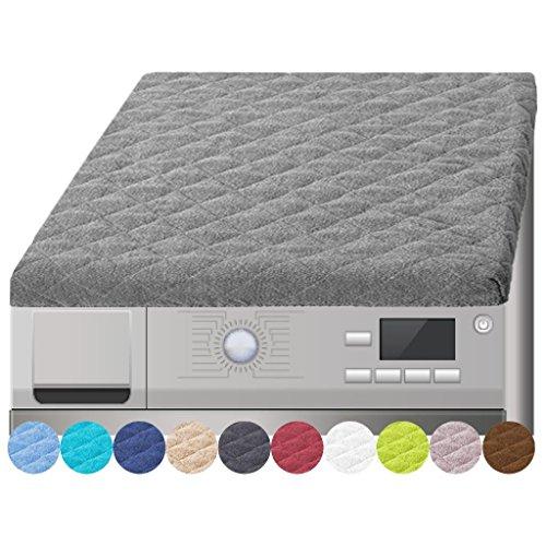 Preisvergleich Produktbild Trockner und Waschmaschinenbezug in versch. Farben, Auswahl: grau - hellgrau