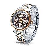 Time100 W60055G.03A W600 - Reloj pulsera mecácino para hombres de color marrón