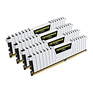 Corsair Vengeance LPX - Módulo de Memoria XMP 2.0 de Alto Rendimiento de 32 GB (4 x 8 GB, DDR4, 3200 MHz, C16) Color Blanco (B01EI5ZH28)   Amazon price tracker / tracking, Amazon price history charts, Amazon price watches, Amazon price drop alerts