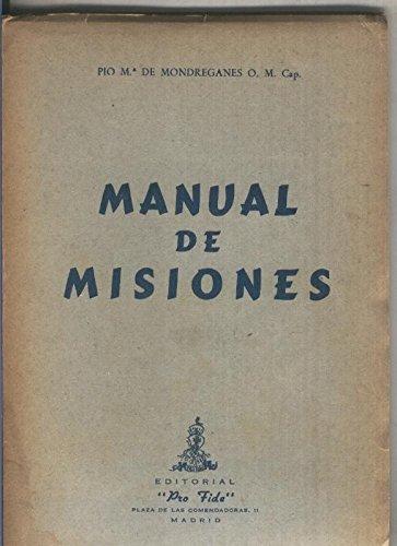 Manual de Misiones (compendio en 25 lecciones)