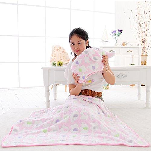 Preisvergleich Produktbild VERCART Spielzeugkissen Seitenschläferkissen Stillkissen Lagerungskissen Plüschtiere Plüschkissen Kopfkissen Bettkissen Scheiße-Kopfkissen Rosa 100x80cm