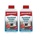 2x Mellerud Kunststoff Fenster Reiniger (1 Liter)