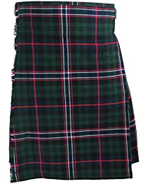 Tartanista - Kilt écossais (Highland) Scottish National - 4,57 m (5 yards)/283 g (10 oz)