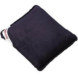Heim & Büro Someda Vibro Massagekissen | Rückenmassagekissen | Massagegerät | Rückenmasseur | für Rücken und Nacken | 30 x 30 cm