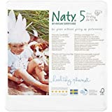 Naty by Nature Babycare Size 5 (24-55 lbs/11-25kg) Eco Nappies, 23 Nappies