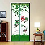 seguryy magnetisch Bildschirm Tür Keep Insekten fern Mosquito Tür, oben nach unten Dichtung automatisch, fernhalten von Mücken Vorhang für Balkon Schiebetüren Wohnzimmer Kinderzimmer, 100 x 210 cm