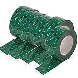 5 Rollen Klebeband 60mm x 25 lfm für Dampfbremse Dampfsperre Dampfsperrfolie Dampfbremsfolie OSB - Systemklebeband grün