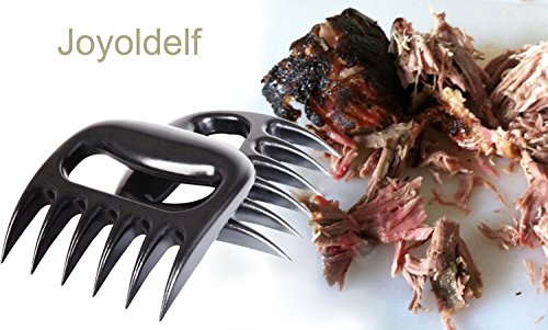 Joyoldelf Pulled Pork Shredder Meat Bear Claws Handler Shredding Forks Smoked BBQ Meat Grilling Accessories