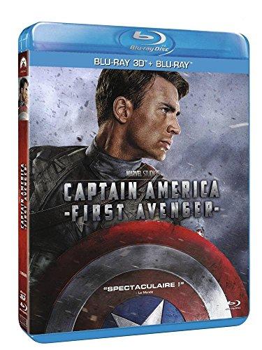 Preisvergleich Produktbild Captain America : The First Avenger [Combo Blu-ray 3D + Blu-ray 2D]