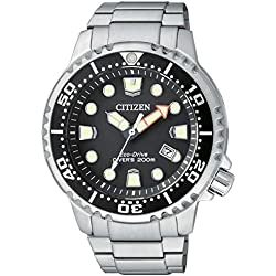 Watch Citizen Eco-Drive Divers 200mt Steel BN0150-61E