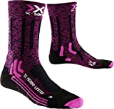 X-Socks Damen Socken TREKKING MERINO LIMITED LADY, Pink/Black, 39/40, X100078