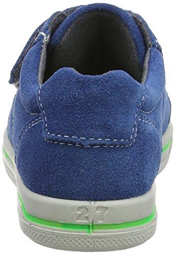 Ricosta Mola, Sneaker a Collo Basso Bambino Blue (Petrol 144)