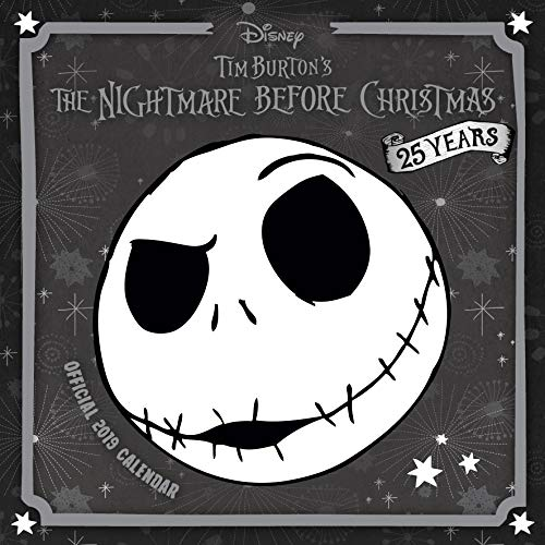 Nightmare Before Christmas Official 2019 Calendar - Square Wall Calendar Format par Nightmare Before Christmas