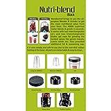 Wonderchef Nutri-Blend 63152295 400-Watt Mixer Grinder with 3 Jars (Purple)