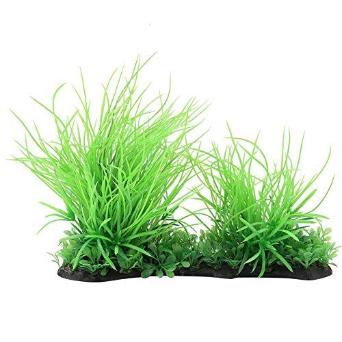 Wasser Gras Pflanze, Aquarium Rasen Aquarium Landschaft Dekor Kunststoff Pflanze Dekoration ()