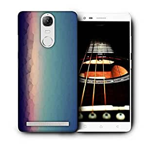 Snoogg Abstract Pattern Design Printed Protective Phone Back Case Cover For Lenovo K5 Note
