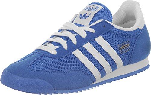 Adidas Dragon J, Sneaker Unisexe-blanc Bleu Enfants